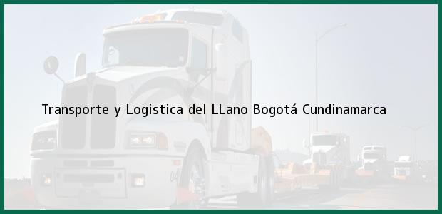 Teléfono, Dirección y otros datos de contacto para Transporte y Logistica del LLano, Bogotá, Cundinamarca, Colombia