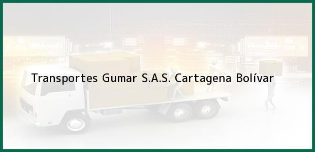 Teléfono, Dirección y otros datos de contacto para Transportes Gumar S.A.S., Cartagena, Bolívar, Colombia