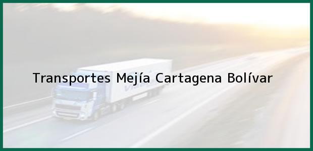 Teléfono, Dirección y otros datos de contacto para Transportes Mejía, Cartagena, Bolívar, Colombia