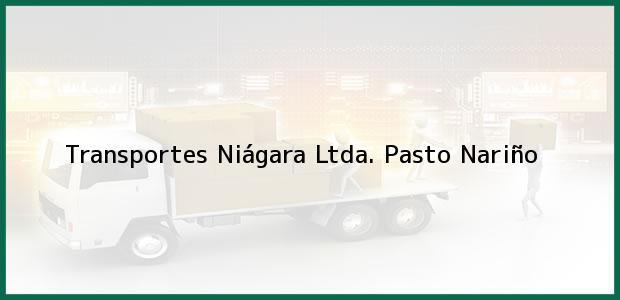 Teléfono, Dirección y otros datos de contacto para Transportes Niágara Ltda., Pasto, Nariño, Colombia