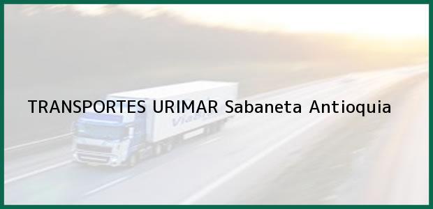 Teléfono, Dirección y otros datos de contacto para TRANSPORTES URIMAR, Sabaneta, Antioquia, Colombia