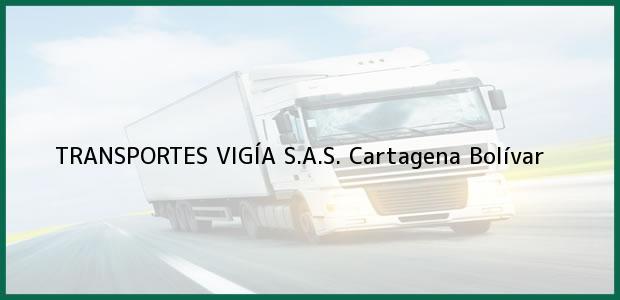 Teléfono, Dirección y otros datos de contacto para TRANSPORTES VIGÍA S.A.S., Cartagena, Bolívar, Colombia