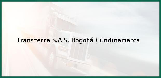 Teléfono, Dirección y otros datos de contacto para Transterra S.A.S., Bogotá, Cundinamarca, Colombia