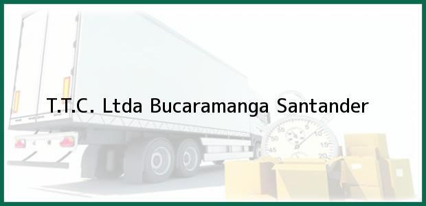 Teléfono, Dirección y otros datos de contacto para T.T.C. Ltda, Bucaramanga, Santander, Colombia