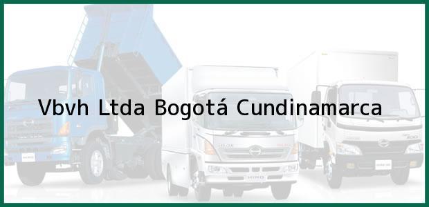 Teléfono, Dirección y otros datos de contacto para VBVH LTDA., Bogotá, Cundinamarca, Colombia