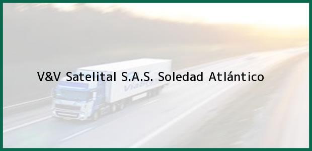 Teléfono, Dirección y otros datos de contacto para V&V Satelital S.A.S., Soledad, Atlántico, Colombia
