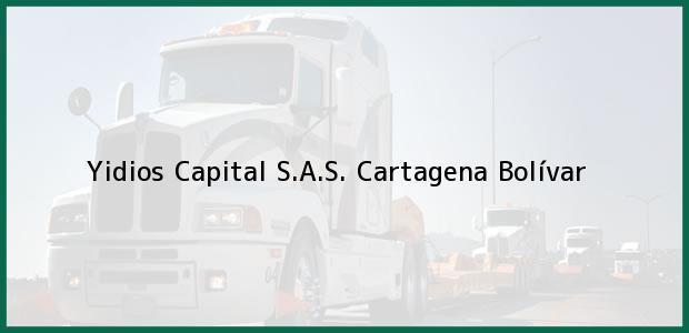 Teléfono, Dirección y otros datos de contacto para Yidios Capital S.A.S., Cartagena, Bolívar, Colombia