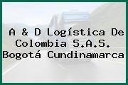A & D Logística De Colombia S.A.S. Bogotá Cundinamarca