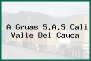 A Gruas S.A.S Cali Valle Del Cauca