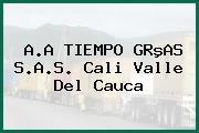 A.A TIEMPO GRºAS S.A.S. Cali Valle Del Cauca