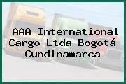 AAA International Cargo Ltda Bogotá Cundinamarca