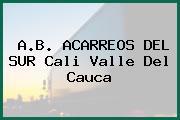 A.B. ACARREOS DEL SUR Cali Valle Del Cauca