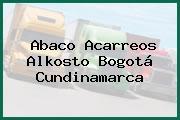 Abaco Acarreos Alkosto Bogotá Cundinamarca