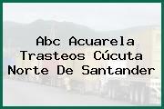 Abc Acuarela Trasteos Cúcuta Norte De Santander