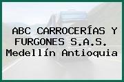 ABC CARROCERÍAS Y FURGONES S.A.S. Medellín Antioquia