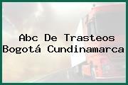 Abc De Trasteos Bogotá Cundinamarca