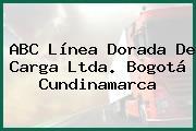 ABC Línea Dorada De Carga Ltda. Bogotá Cundinamarca