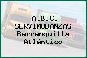 A.B.C. SERVIMUDANZAS Barranquilla Atlántico