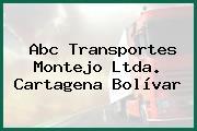 Abc Transportes Montejo Ltda. Cartagena Bolívar