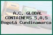 A.C. GLOBAL CONTAINERS S.A.S Bogotá Cundinamarca