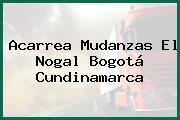 Acarrea Mudanzas El Nogal Bogotá Cundinamarca