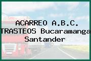 ACARREO A.B.C. TRASTEOS Bucaramanga Santander