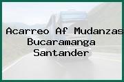 Acarreo Af Mudanzas Bucaramanga Santander