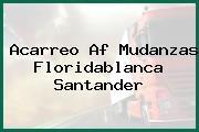 Acarreo Af Mudanzas Floridablanca Santander