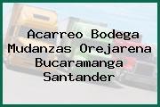 Acarreo Bodega Mudanzas Orejarena Bucaramanga Santander