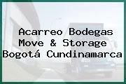 Acarreo Bodegas Move & Storage Bogotá Cundinamarca