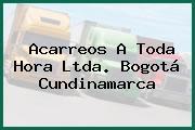 Acarreos A Toda Hora Ltda. Bogotá Cundinamarca