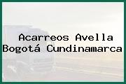 Acarreos Avella Bogotá Cundinamarca