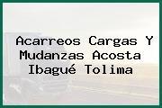 Acarreos Cargas Y Mudanzas Acosta Ibagué Tolima