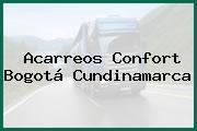 Acarreos Confort Bogotá Cundinamarca