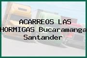 ACARREOS LAS HORMIGAS Bucaramanga Santander