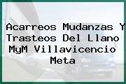 Acarreos Mudanzas Y Trasteos Del Llano MyM Villavicencio Meta