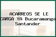 ACARREOS SE LE CARGA YA Bucaramanga Santander