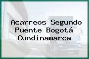 Acarreos Segundo Puente Bogotá Cundinamarca