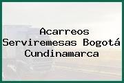 Acarreos Serviremesas Bogotá Cundinamarca