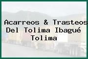 Acarreos & Trasteos Del Tolima Ibagué Tolima