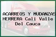 ACARREOS Y MUDANZAS HERRERA Cali Valle Del Cauca