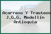 Acarreos Y Trasteos J.G.G. Medellín Antioquia