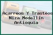 Acarreos Y Trasteos Niza Medellín Antioquia