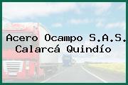 Acero Ocampo S.A.S. Calarcá Quindío