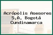 Acrópolis Asesores S.A. Bogotá Cundinamarca