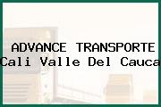 ADVANCE TRANSPORTE Cali Valle Del Cauca