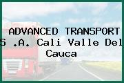 ADVANCED TRANSPORT S .A. Cali Valle Del Cauca