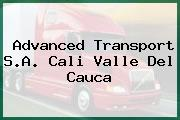 Advanced Transport S.A. Cali Valle Del Cauca
