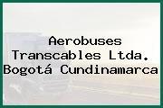 Aerobuses Transcables Ltda. Bogotá Cundinamarca