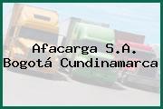Afacarga S.A. Bogotá Cundinamarca
